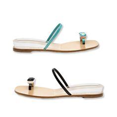 69207241c9ea8d casadei dual color sandals Shoe Closet