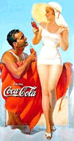 Spotlight on Golden Age Advertising | Coca Cola | Calendar Girl Advertising
