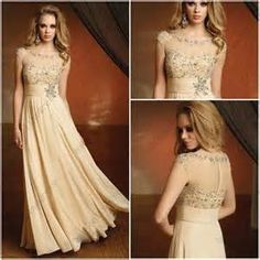 Long Champagne Mother of the Bride Jacket Dress - Bing Images