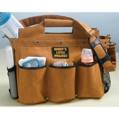 Perfect For The Hard Working Father Daddy S Tools Baby Diaper Bag Will Hold All
