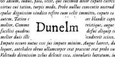 Dunelm font download