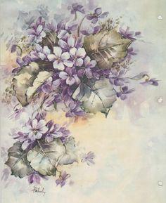 MARY PATUSKY - Violets  (848×1040)