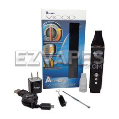 http://ezvaporizers.com/portable-vaporizers/prod_1882.html  The #Atmos #Vicod #vaporizer is one of the smallest #herbal #vapes to feature a digital display and precision temperature control.