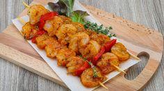 Une recette de crevettes grillées à l'orientale, présentée sur recettes.zeste.tv