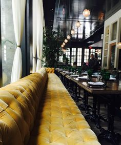 One of my daughter's roommates works in a fabulous restaurant in downtown LA. It's name is...