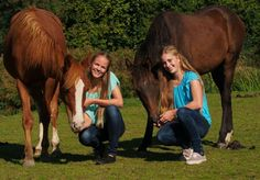 Horse photoshoot with Maxime & Sanne  C2013 by Jacqueline Herbert