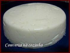 RECEITA DE QUEIJO CATUPIRY (com foto) No Salt Recipes, Cheese Recipes, Cake Recipes, Kefir, Brazillian Food, Homemade Cheese, Pan Bread, Portuguese Recipes, How To Make Cheese