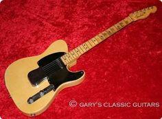 Fender Nocaster 1951 Butterscotch Blonde
