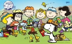 Snoopy & the gang