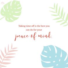Relaxing from all your duties is really the best therapy for nurturing peace of mind. Staycation Quotes, Peace Of Mind, Sad, Therapy, Happiness, Mindfulness, Strong, Good Things, Patio