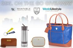 Introducing the Girl on the Go Giveaway from Wantable.com, WorldLifeStyle, and PARK Luxury Sporting Accessories! Win a Park Accessories Tote filled with on-the-go essentials and a personalized Wantable box of your choice.