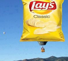 This is the only pic I could find of Classic Lays. My mom's preferred snack.with a glass of milk. Love Balloon, Balloon Rides, Helium Balloons, Hot Air Balloon, Air Balloon Festival, Sky Ride, Balloons Galore, Breakfast Specials, Air Ballon