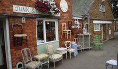 JUNK & DISORDERLY Uppingham, Rutland   Antiques, painted furniture, vintage furniture