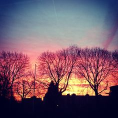 """What a sky!  #beautiful #sunrise #sky #morning #colours"""