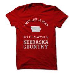 Iowa Nebraska Country #sport #tshirt