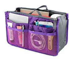 Lady Women Travel Insert Handbag Organiser Purse Large Liner Organizer Tidy Bag-Purple, http://www.amazon.com/dp/B00M9APIZQ/ref=cm_sw_r_pi_awdm_le9Dub1RFKNDK
