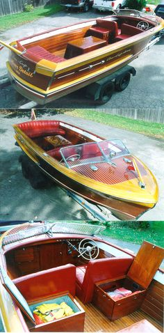 pinterest.com/fra411 #Classic #Boats - 23' Chris Craft Holiday - Classic Boats