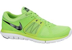 5de2a4a133a2e NIKE FLEX 2014 RUN TRAINERS FOR MEN IN ELECTRIC GREEN BLACK - Footwear - MelMorgan  Sports