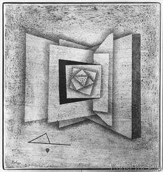 Paul Klee - Open book, 1930