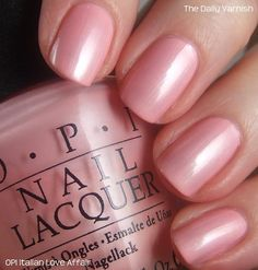OPI Italian Love Affair, my favorite!