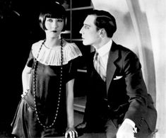 "summers-in-hollywood: ""Buster Keaton and Rosalind Byrne in Seven Chances, 1925 """