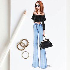 Fashion Sketches 631137335261840513 - Style of Brush by Gizem Kazancıgil gizem kazancigil Source by Dress Design Sketches, Fashion Design Sketchbook, Fashion Design Drawings, Fashion Sketches, Dress Designs, Fashion Art, Fashion Models, Girl Fashion, Fashion Outfits