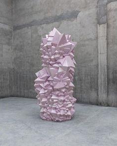 not  vital, contemporary ceramic sculpture, hanging and waiting, design squish blog