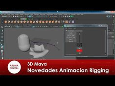 3D Maya Novedades version 2016 003 Animacion y rigging - YouTube
