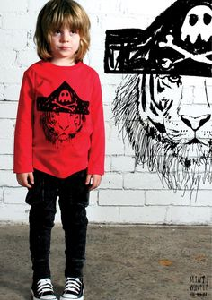 paint an awesome image on a plain tshirt for that boy who doesn't like plain tshirts.