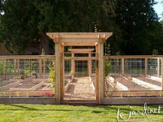 Deer fence for veggie garden   In the Garden   Pinterest