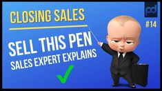How to Sell a Pen - Best Answer for Sales Interview. In this sales training video a sales expert explains how to really sell a pen in 2 minutes, but will als. Public Speaking, Latest Video, Youtube, How To Become, Things To Sell, Blog, Training, Leadership Types, Boss Birthday