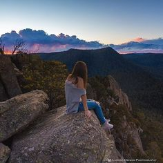 """Sitting on top of the world! The Booroomba Rocks Walk is a steep 30 minute climb through the bush until you come out onto this massive granite cliff face. It is so worth the 50 minute drive from Canberra!"" Thanks to Instagrammer @larissadening for sharing this beautiful Canberra image and tagging #visitcanberra. We'd also love to see your favourite Canberra walks!"