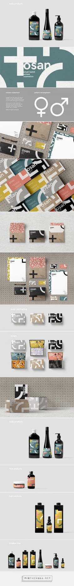 Osan Cosmetics         on          Packaging of the World - Creative Package Design Gallery - created via https://pinthemall.net