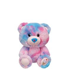 7 in. smallfrys® Bubble Gum Bear - Build-A-Bear Workshop US  $10 I have this!!!! It's so cute and adorable!! I just love mine!!