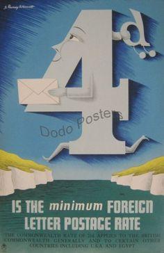 Ramsey Wherrett - Post Office Poster - Dodo Posters