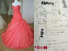 vestido pattern dress