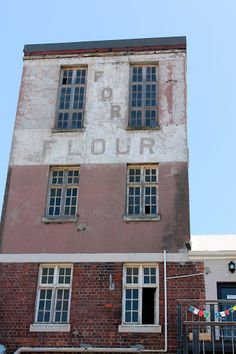 The Old Biscuit Mill. African History, Woodstock, Abandoned Places, Cape Town, Homeland, Townhouse, Biscuit, South Africa, Beautiful Places