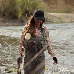 Fishing Gear that looks good and is functional - dig it. #flyfishing #fishinggear