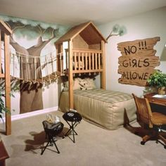 Charming White Brown Wood Cool Design Bunk Beds For Kids Bedroom Wood Typist Chairs Wallpaper Tree Bed Chairs Table Furniture At Bedroom As Well As Interior Design Ideas Also Kids Bedroom Furniture, Beautiful Design Awesome Kids Bedrooms Ideas: Bedroom, Furniture, Interior