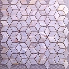 shell tile for fireplace surround