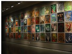 Chihuly's drawings for glass Dale Chihuly, Photo Wall, Drawings, Glass, Frame, Home Decor, Art, Picture Frame, Art Background
