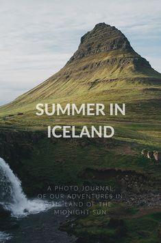Summer in Iceland #iceland #summer