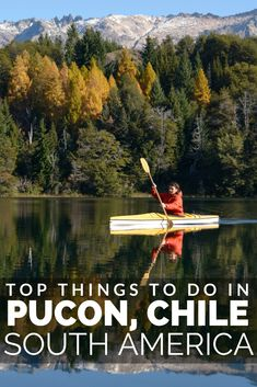 Discover Pucon, the heart of the adventure sports in Chile South America. Located in the lush Chile lake district there is a wealth of adventure to be found here and Pucon town makes for a great base for your activities. Brazil Travel, Peru Travel, Travel Usa, South America Destinations, South America Travel, Travel Destinations, Backpacking South America, Equador, Argentina Travel