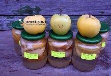 Compot natural de mere pentru iarna, reteta fara conservanti Cantaloupe, Eggs, Drinks, Breakfast, Food, Youtube, Marmalade, Kitchens, Preserves