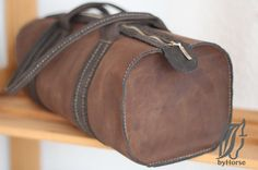 Leather bag - Brown bag - British style Bag