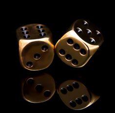 Black & Gold dices