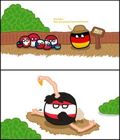 German Zoo ( Germany, Austria ) by Hielord #polandball #countryball