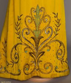 """LANVIN """"JOSEPHINE"""" FANCY DRESS, EARLY 20TH C. Details? Click on image. (http://www.augusta-auction.com)"""