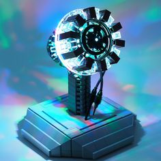 IRON MAN! - Arc Reactor LEGO Build Realizes Movie Magic.  I want one of these
