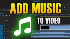 HOW TO ADD MUSIC TO A VIDEO Add Music, Retro Futuristic, Tech, Ads, Videos, Youtube, Technology, Youtubers, Video Clip